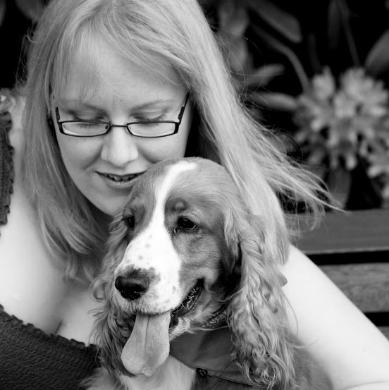 Counsellor, Kathryn & her Canine Companion, Flossie